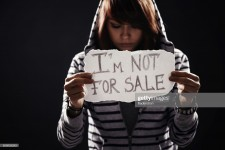 human trafficking : Stock Photo