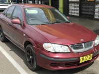The NSW-registered maroon Nissan Pulsar sedan, which Mr Penno-Tompsett was travelling in before he went missing.